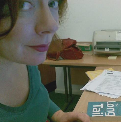 Joy Palmer ( + Strategically Placed Reading Material...)