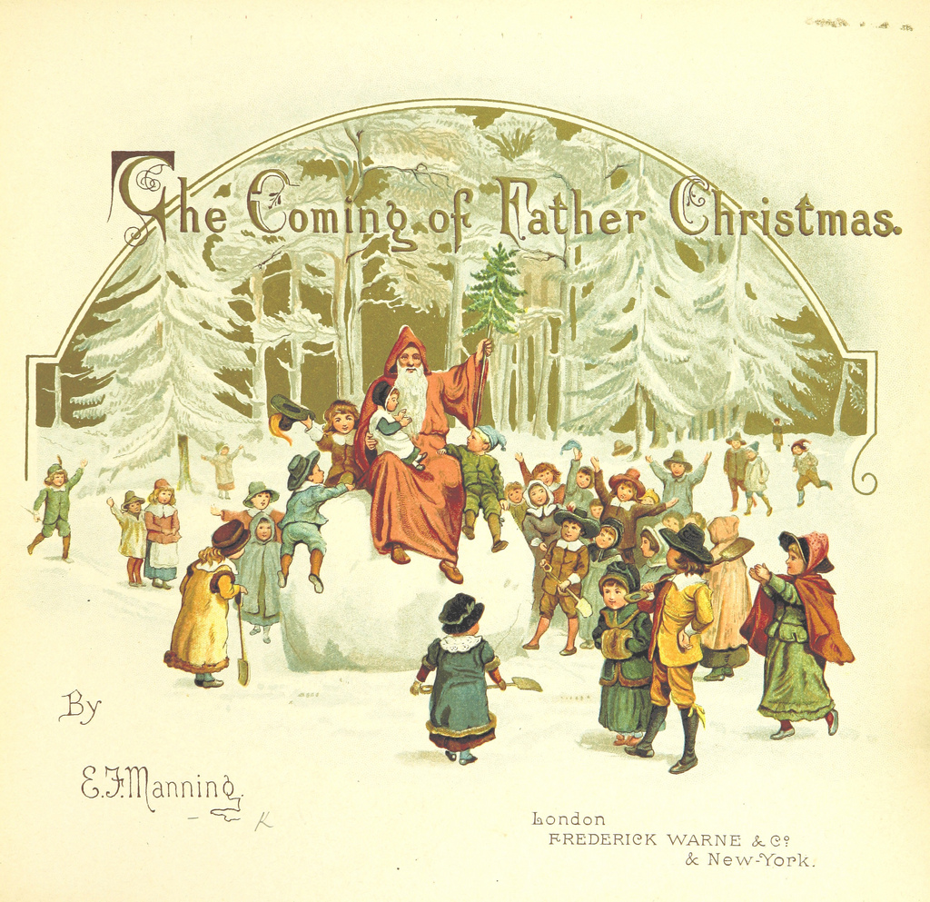 The Coming of Father Christmas - from the British Library's set of over 1 million public domain images on Flickr.