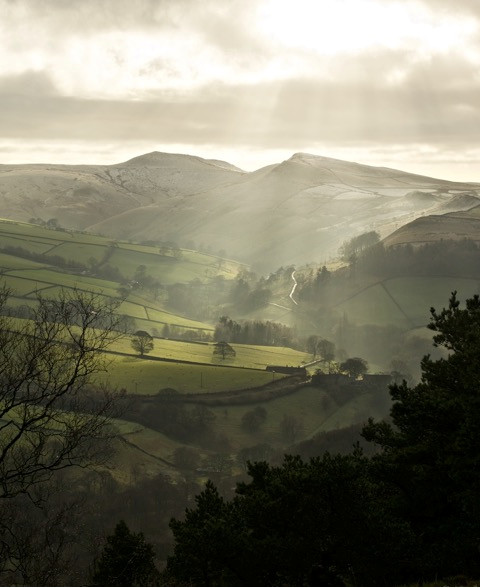 Photo: Winter in the Peak District