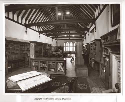 Vicars' Hall in use as Chapter Library