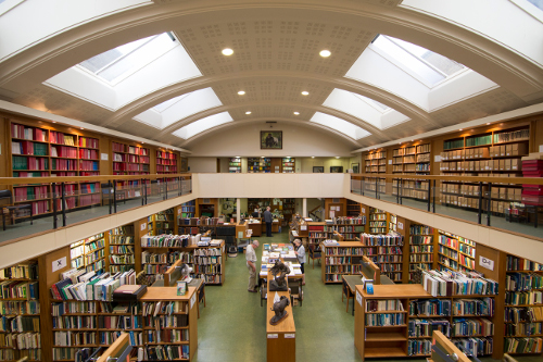Photo of ZSL Library interior