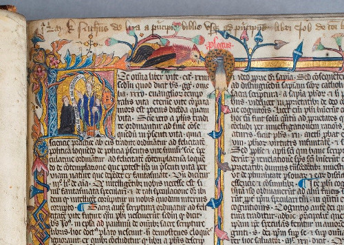 Durham Cathedral MSS A.I.3 – St Cuthbert ©Chapter of Durham Cathedral