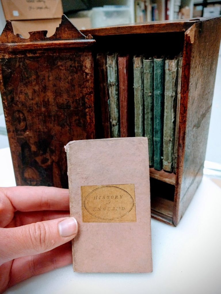 Photograph of the Book-case of knowledge, or library for youth (1803)