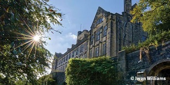 Photograph of Bangor University Library