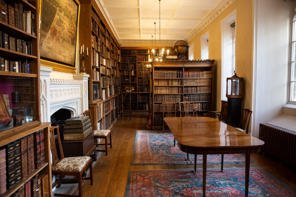Interior of the Winchester College Fellows' Library
